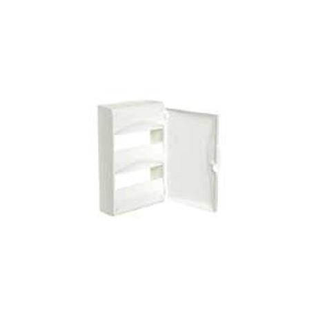 Porte coffret 4 rangees blanc Moeller