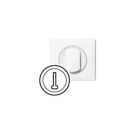 Enjoliveur prise telephone Legrand celiane blanc