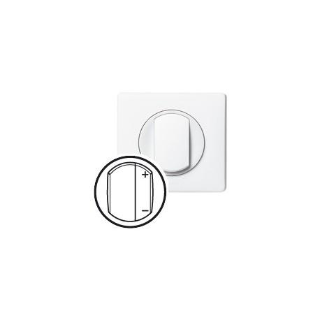 Interrupteur variateur 600w blanc Legrand celiane