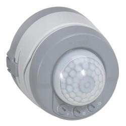 detecteur de mouvement 360 prog plexo complet saillie gris