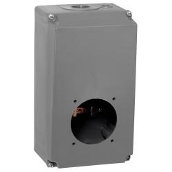 boitier reversible hypra ip44 ip66 67 63a socle 2p t 3p t 3p n t plast