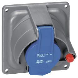 socle tableau prisinter hypra ip44 55 16 a 200 250 v 2p t plast