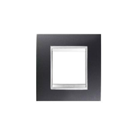 Plaque lux 2m noir toner Gewiss chorus