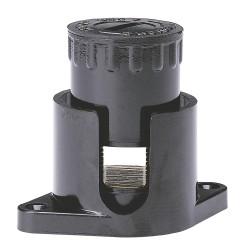 borne anti cisaillante ecrou 6 pans avec pattes 2x50 mm