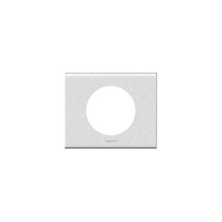Plaque corian antarctica Legrand celiane 1 poste avec support