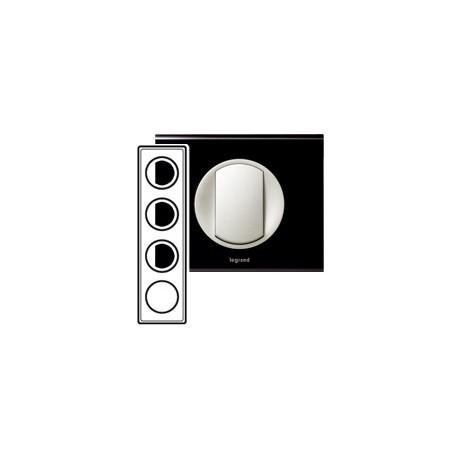legrand celiane plaque corian nocturne 4 postes entraxe 71mm. Black Bedroom Furniture Sets. Home Design Ideas