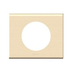 Plaque erable Legrand celiane 1 poste avec support a vis