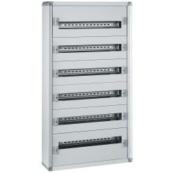 coffret distribution metal xl 160 tout modulaire 6 rangees 1050x575x147
