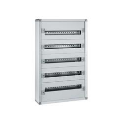 coffret distribution metal xl 160 tout modulaire 5 rangees 900x575x147