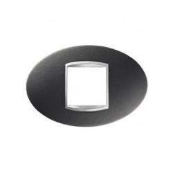 Plaque art 2m cuir noir Gewiss chorus