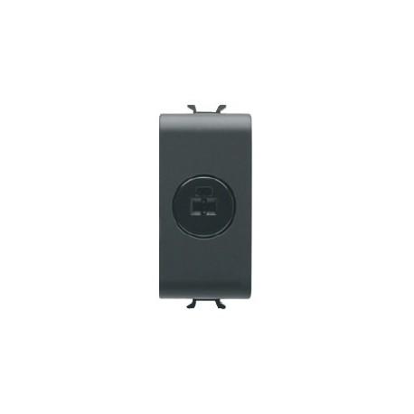 Connecteur haut parleur 1m noir Gewiss chorus