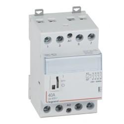 contacteur de puissance bobine 230 v 4p 250 v 40 a 4f 3 mod