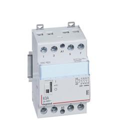 contacteur de puissance bobine 230 v 4p 250 v 63 a 4f 3 mod