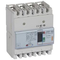 disj puissance dpx 160 magneto thermique 25 ka 4p 100 a