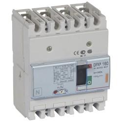 disj puissance dpx 160 magneto thermique 25 ka 4p 160 a