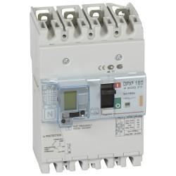 disj puissance dpx 160 magneto thermique diff 25 ka 4p 160 a