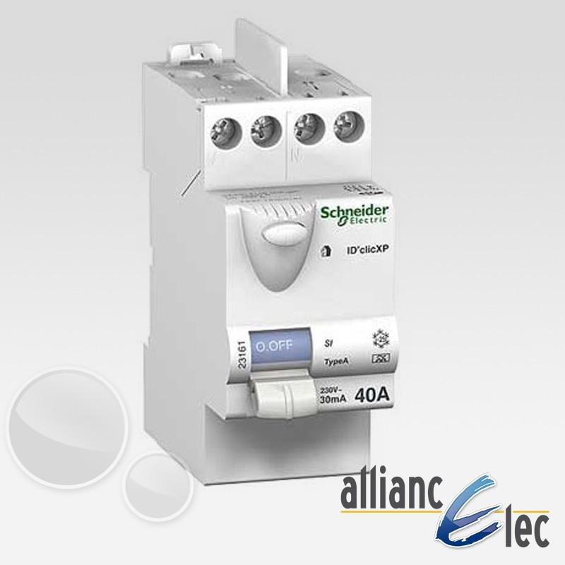 Tableau electrique complet schneider surface sup rieur for Tableau electrique pour maison 150 m2