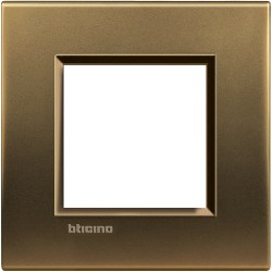 plaque bronze livinglight 2 modules