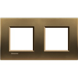 plaque bronze livinglight 2 2 modules