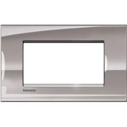 plaque nickel livinglight 4 modules