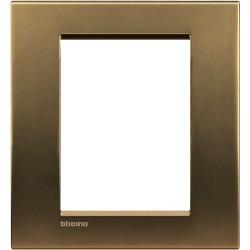 plaque bronze livinglight 3 3 modules