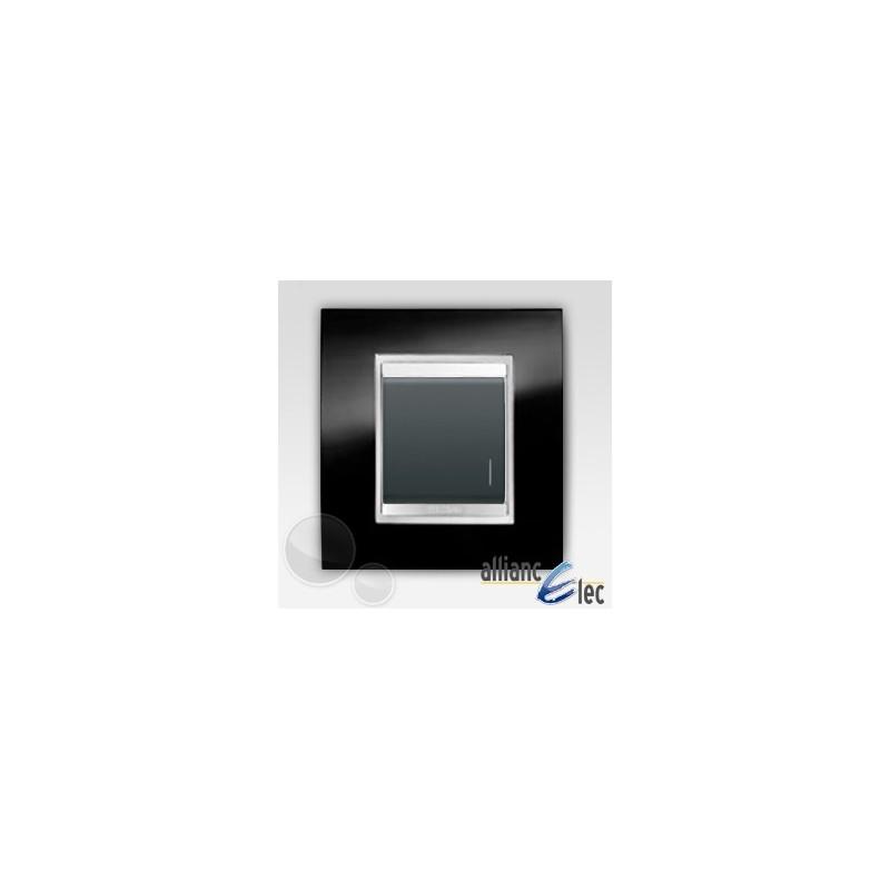 interrupteur 2m lum localisation lux ardoise sur noir. Black Bedroom Furniture Sets. Home Design Ideas
