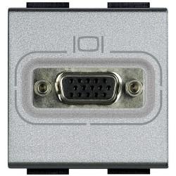 connecteur hd15 femelle livinglight a visser tech 2 modules