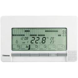 chrono thermostat mural livinglight blanc