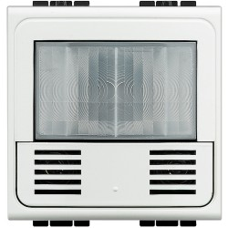 detecteur de presence 3 fils avec neutre livinglight blanc 2 mod