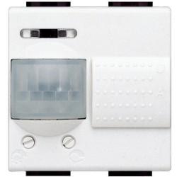 detecteur 3 fils avec neutre avec derogation livinglight blanc 2 mod
