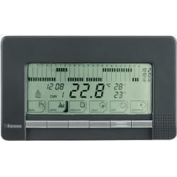 chrono thermostat mural livinglight anthracite