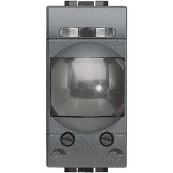 interrupteur automatique infrarouge 1 module livinglight anthracite