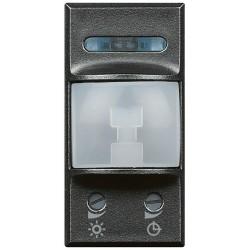 interrupteur automatique ir 200w 1 module axolute anthracite