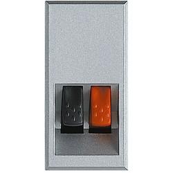 connecteurs audio video pour haut parleur axolute alu 1 module