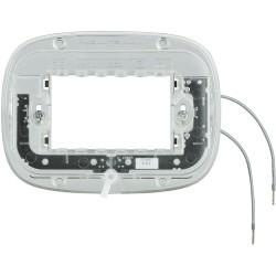 support lumineux pour plaque axolute elliptique 3 modules