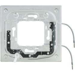 support lumineux pour plaque axolute rectangulaire 2 modules