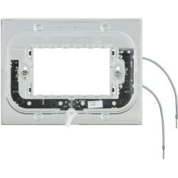 support lumineux pour plaque axolute rectangulaire 3 modules