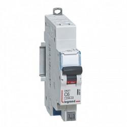 Disjoncteur Legrand 6 A DNX 3 - automatique courbe C