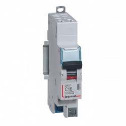 Disjoncteur Legrand 16 A DNX 3 - automatique courbe C