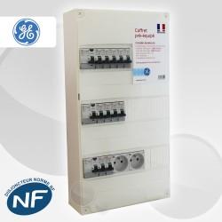 Coffret électrique pré-équipé GE entre 35 m2 et 60 m2 (T1Bis et jusqu'à T3)