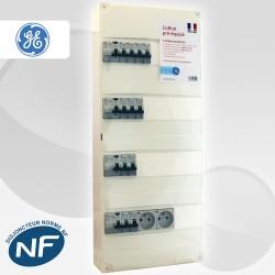 Coffret électrique pré-équipé GE entre 60 m2 et 100 m2 (T3 et Jusqu'à T5)