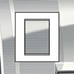 Plaque Livinglight Air Décor 3+3 modules - Rayé
