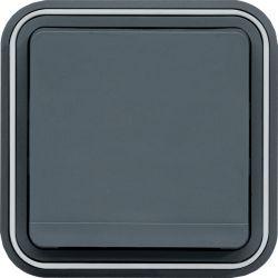 cubyko PC 2P+T encastré gris