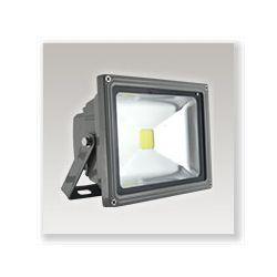 PROJECT LED VISION-EL 230 V 20 WATT 6000°K GRIS + DETECT IP65