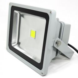 PROJECT LED VISION-EL 230 V 50 WATT 3000°K GRIS IP65