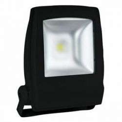 PROJECT LED VISION-EL 230 V 10 WATT 6000°K PLAT NOIR IP65