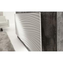 Radiateur IRISIUM Horizontal 1000W Blanc