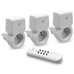 Set de 3 prises remote - controlled