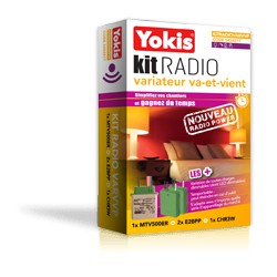 Kit Radio Volets Roulants Domotique Yokis