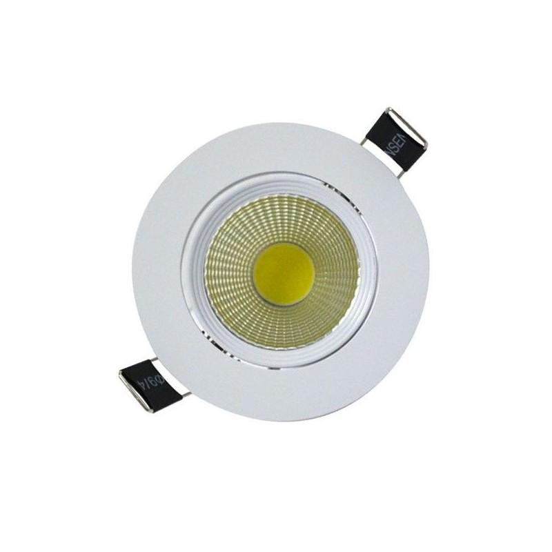led 7 watt cob spot plafond 3000 k boite vision el 7633. Black Bedroom Furniture Sets. Home Design Ideas